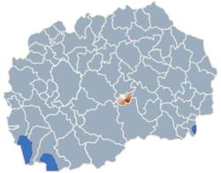 Municipality of Rosoman map