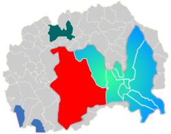 Municipality of Saraj map