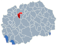 Municipality of Sopiste map