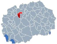 Municipality of Sopiste map