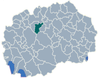 Municipality of Studenicani map