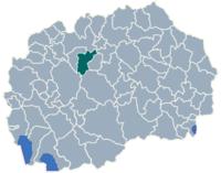 Municipality of Studenicani map