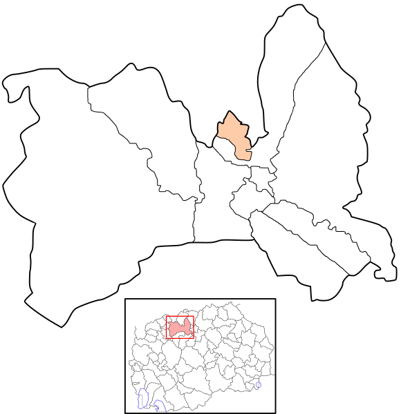 Municipality of Suto Orizari map