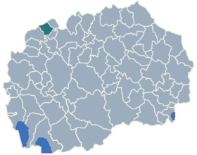 Municipality of Tearce map