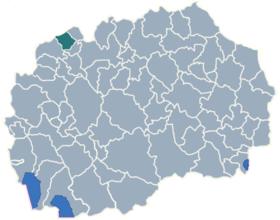Municipality of Tearce map