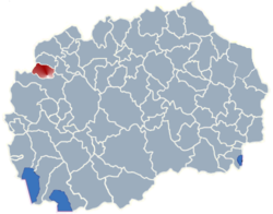 Municipality of Vrapciste map