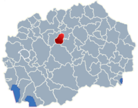 Municipality of Zelenikovo map