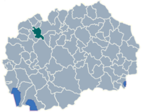 Municipality of Zelino map