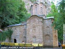 Matka - Saint Andrea monastery
